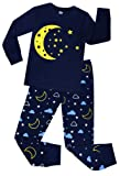 Amazon Price History for:Little Girls Cat Pajamas Toddler Sleepwear Children Cotton Christmas PJs Pants Set