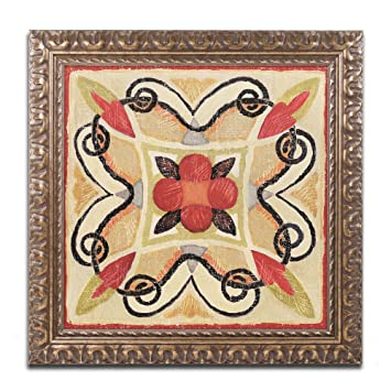 Amazon.com: Marca Fine Art Bohemia Gallo Tile Plaza arte I ...