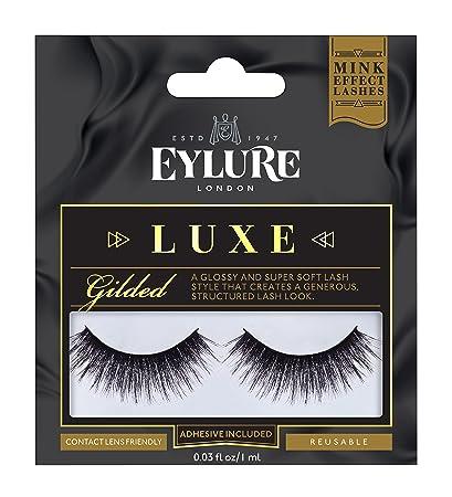 3ed8d52353a Amazon.com : Eylure Faux Mink Eye Lashes, Gilded : Beauty