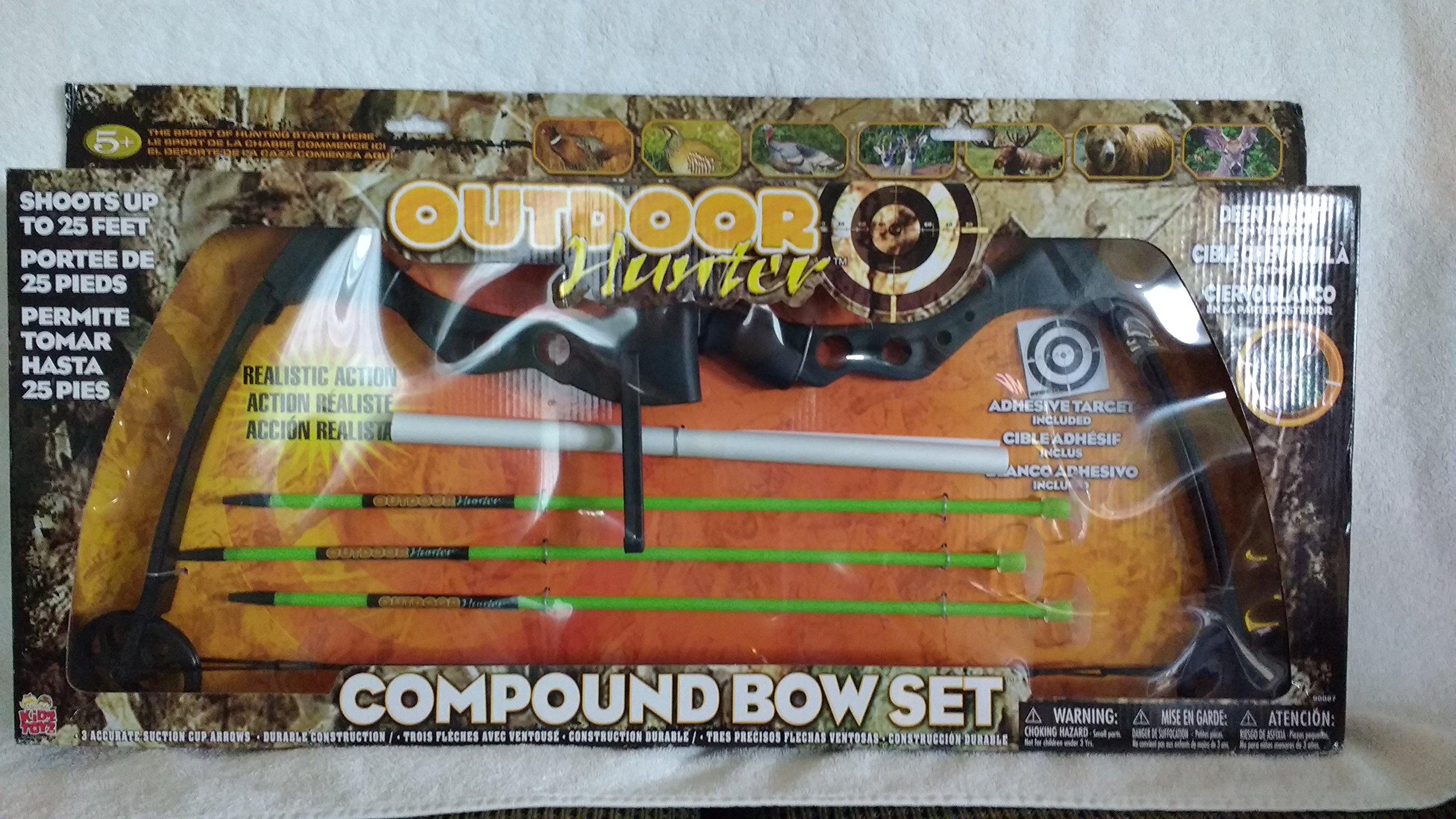 Kidztoyz Outdoor Hunter Toy Compound Bow Set by Kidztoyz