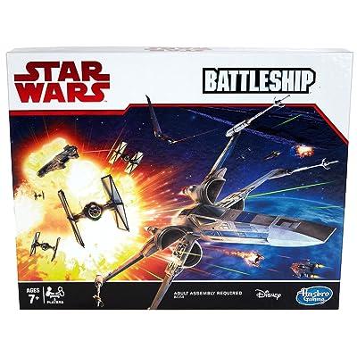 Hasbro Gaming Battleship Game: Star Wars Edition: Toys & Games