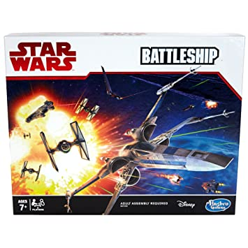 Buy Hasbro Gaming Star Wars Gm Battleship Game Board Online At Low Prices In India Amazon In