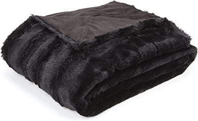 Amazon Com Northpoint Cashmere Plush Velvet Throw Purple