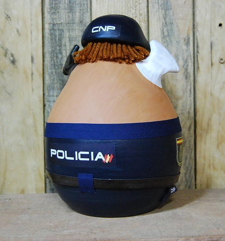 Cerdito hucha disfrazado de policia nacional: Amazon.es ...