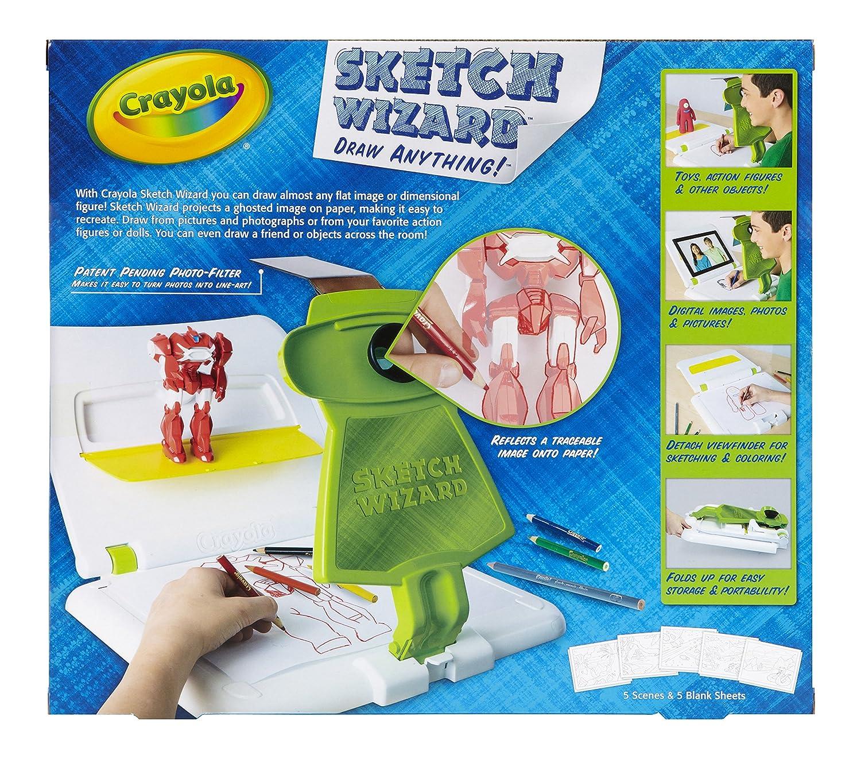 Amazoncom Crayola Sketch Wizard Toys Games
