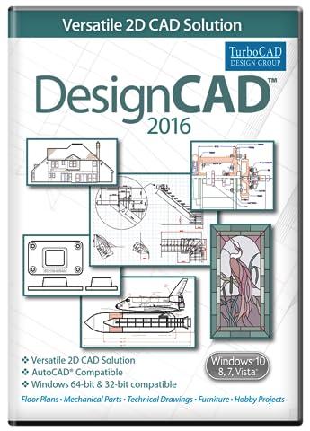 DesignCAD 2016 [Download] (Cad Program Software)