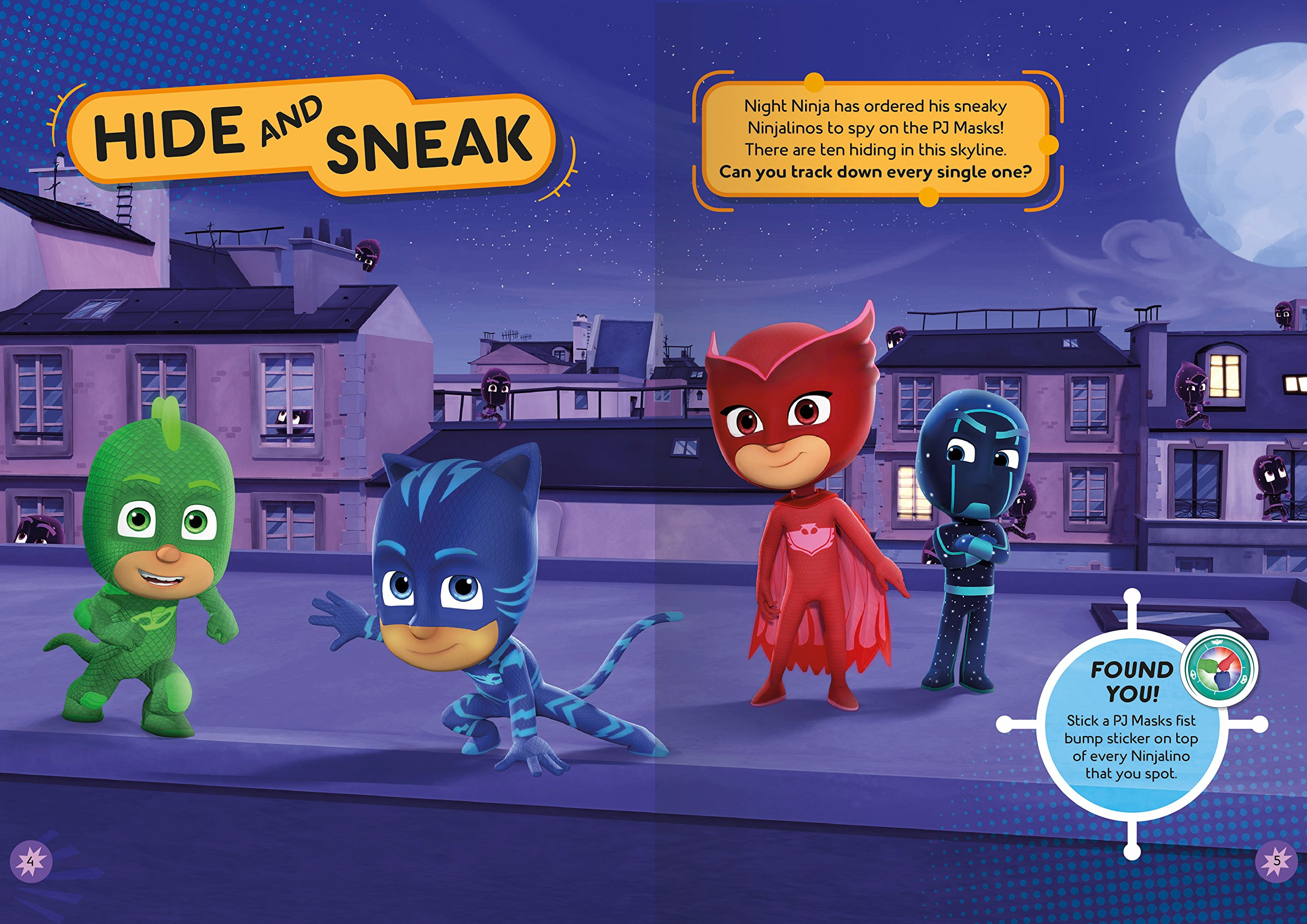 Meet the PJ Masks!: A PJ Masks sticker book: Amazon.es: Pat-a-Cake, PJ Masks: Libros en idiomas extranjeros