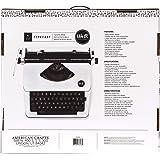 We R Memory Keepers Máquina De Escribir Typecast Typewriter White Blanca