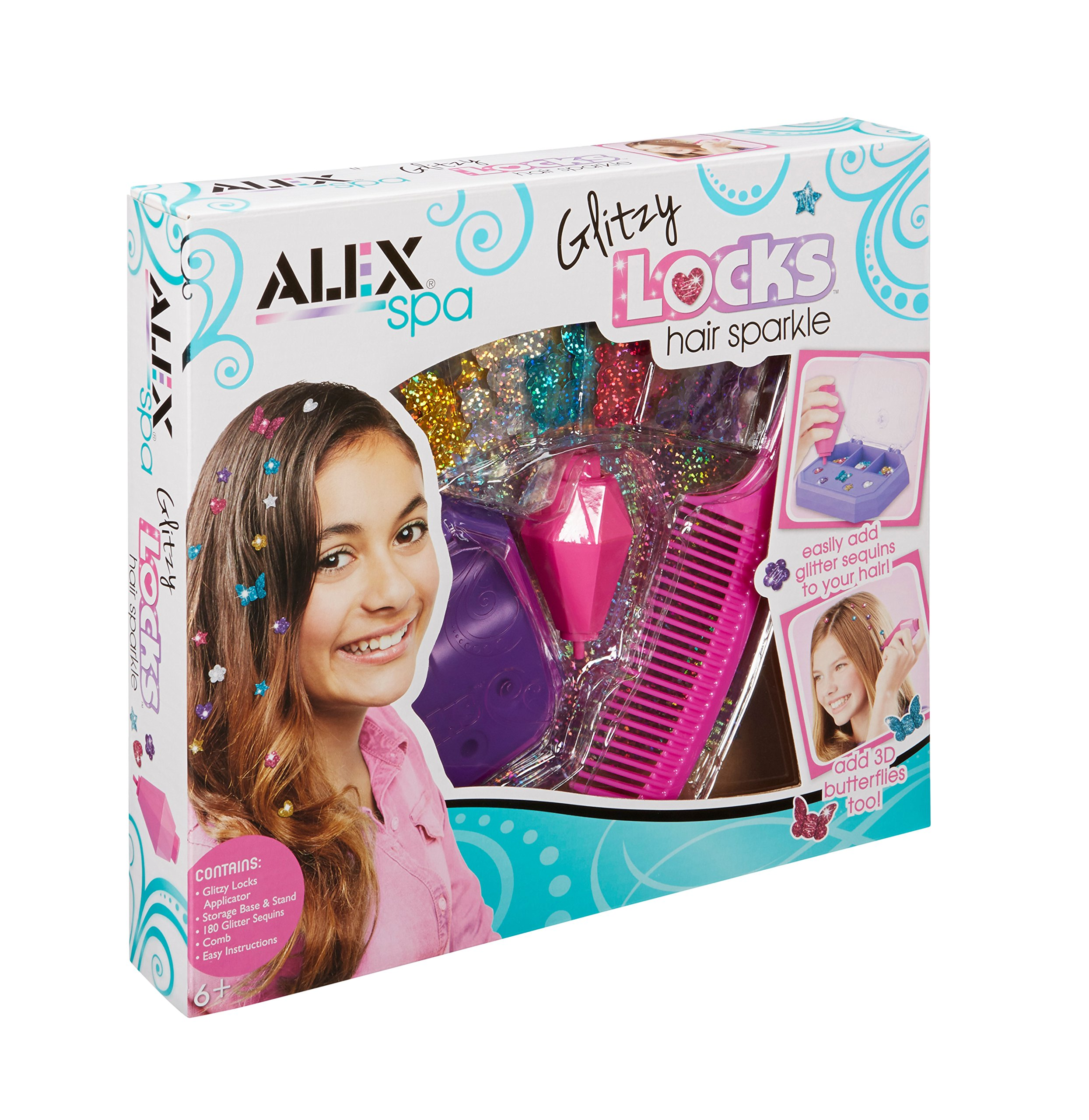ALEX Spa Glitzy Locks Hair Sparkle product image
