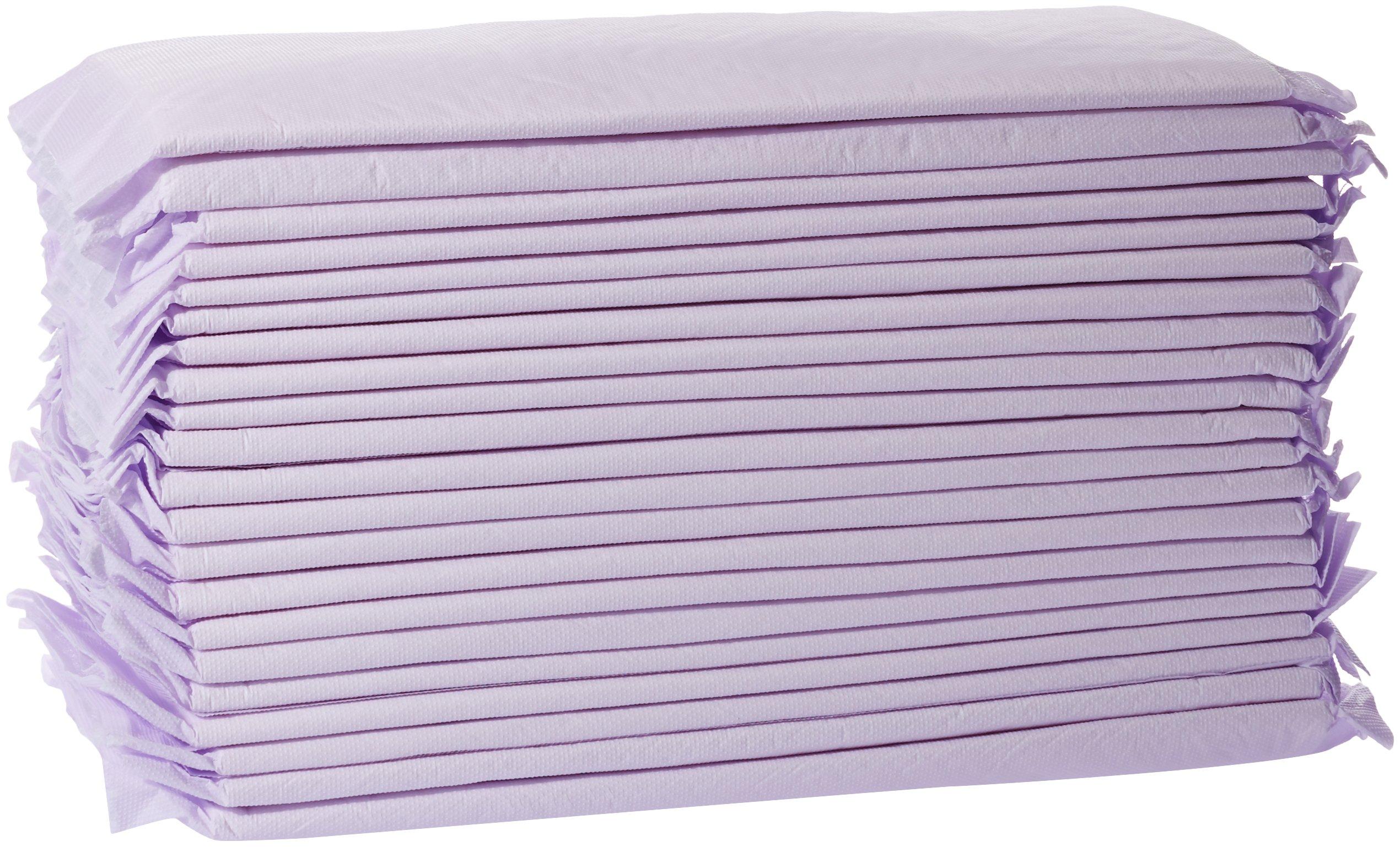 AmazonBasics Cat Litter Box Pads - Pack of 40, Unscented by AmazonBasics