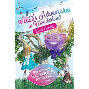 Alice's Adventure in Wonderland with new illustrations - Edition 2021