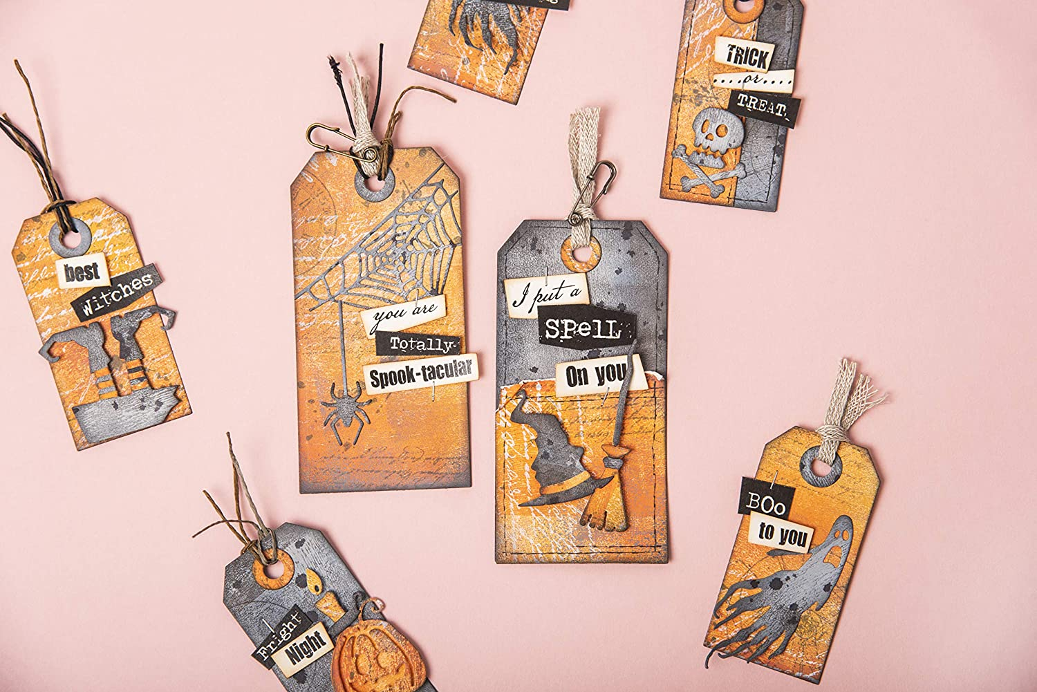 Sizzix 664209 Frightful Things by Tim Holtz Dies Multicolor