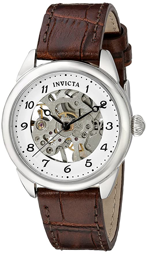 Amazon.com: Invicta Womens 17198 Specialty Analog Display Mechanical Hand Wind Brown Watch: Invicta: Watches