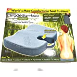 Miracle Bamboo Cushion MBC-MC4 Miracle Bamboo Gray