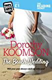 The Beach Wedding (Quick Reads 2018)