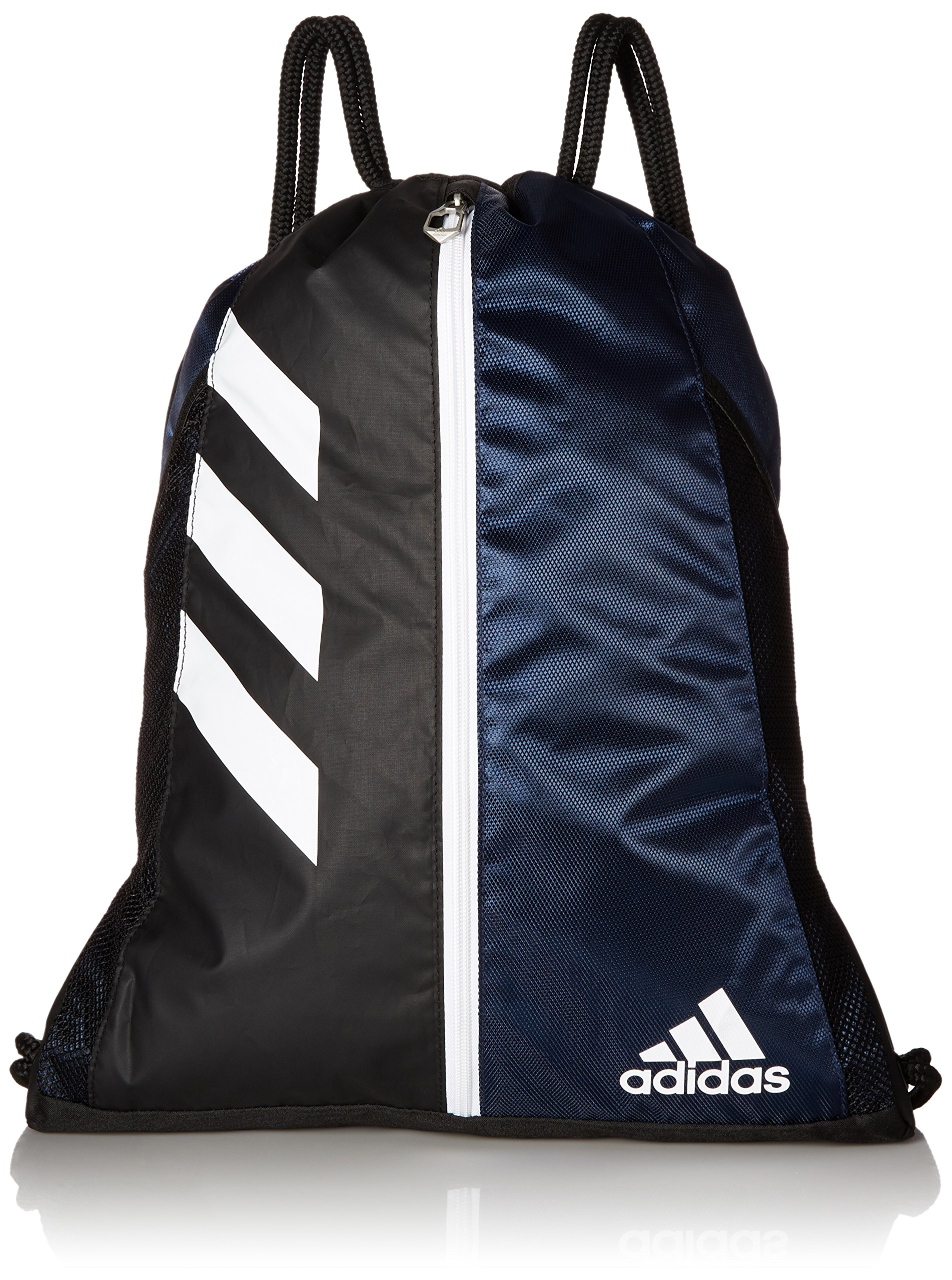 adidas Team Issue Sackpack, Collegiate Navy/Black/White, One Size