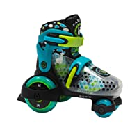 KRF The New Urban Concept 0016655TM Patines Ajustables, Bebé-Niños, Azul, 30-33