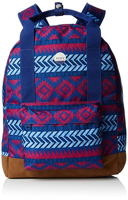 Roxy By My Side - Mochila casual, color azul/rosa, 20 litros, 40 cm: Roxy: Amazon.es: Zapatos y complementos
