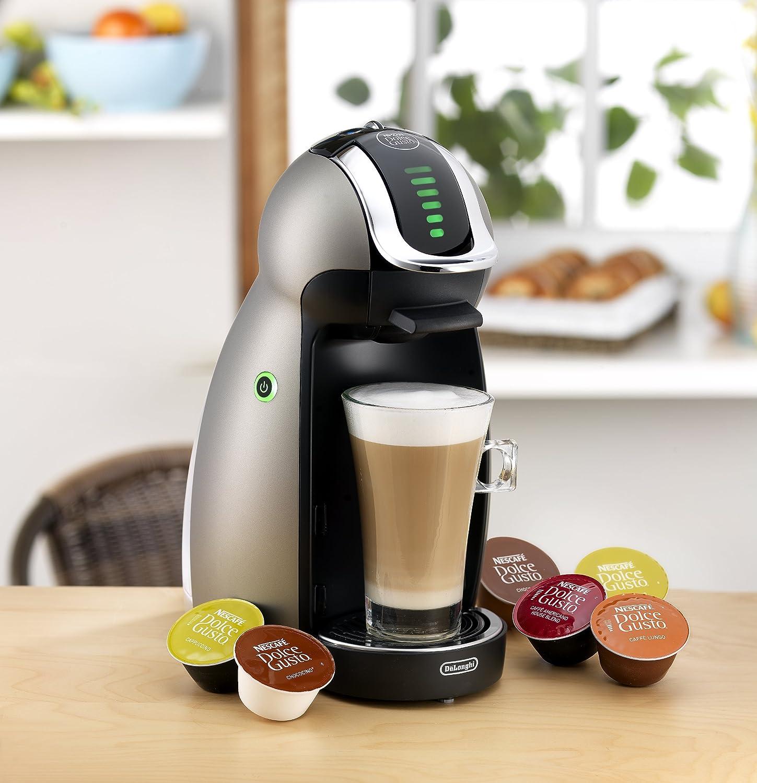 Electronic Best Price Dolce Gusto Coffee Machine amazon com delonghi edg455tex1 dolce gusto genio capsule based coffee maker and espresso machine 21 oz comb