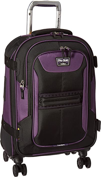 "Travelpro Bold 21"" Carry-on, Expandable Spinner Luggage With Easy-access Tablet"