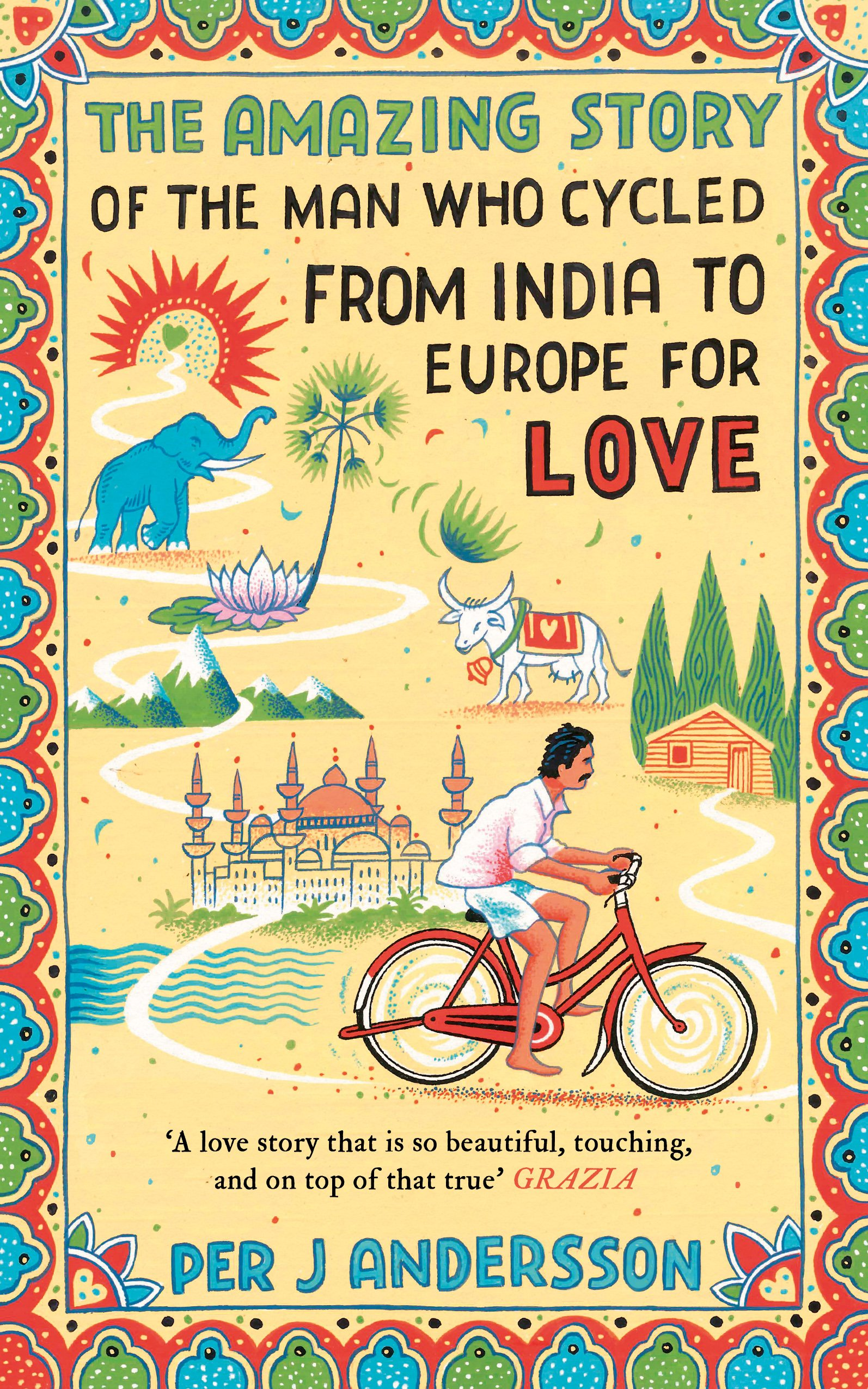 The Amazing Story Of The Man Who Cycled From India To Europe For - Us zip code for india