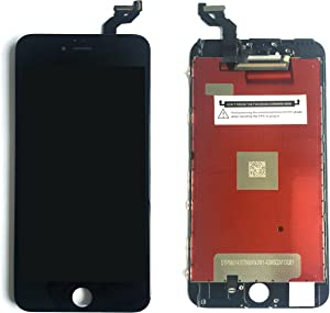FZKH Compatiable Iphone 6s Plus (5.5 Inch) LCD Screen Replacement Digitizer Assembly Front Glass Display Black