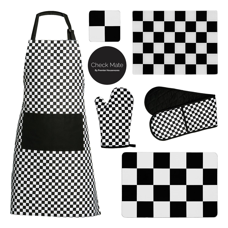 Premier Check Mate Ofenhandschuh doppelt au/ßen Mischfvasern 100/% Baumwolle F/üllung