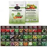 Survival Garden Seeds Home Garden Vegetable Seed Vault - Non-GMO Heirloom Survival Garden Seeds for Planting…