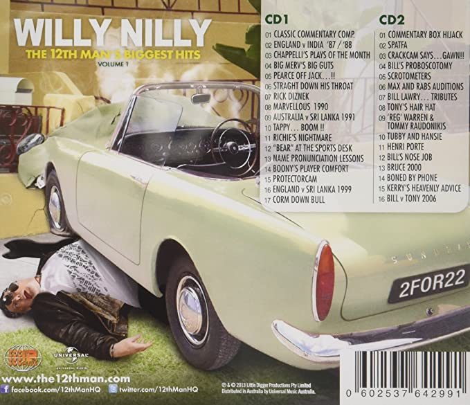 THE 12TH MAN - WILLY NILLY - THE 12TH MAN'S BIGGEST HITS - THE 12TH MAN |  Amazon.com.au | Music