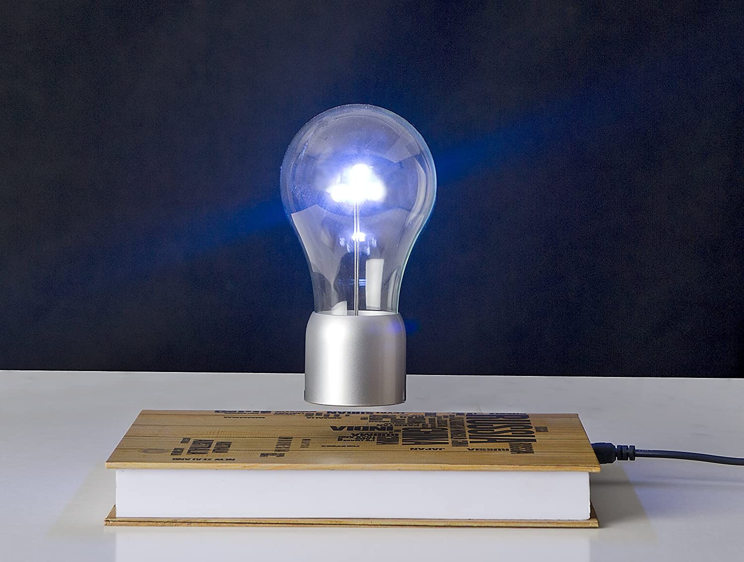 Levitating Light Bulb Lamp