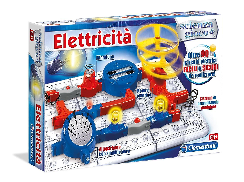 Bien-aimé Clementoni 13914 - Elettricità: Amazon.it: Giochi e giocattoli MT93