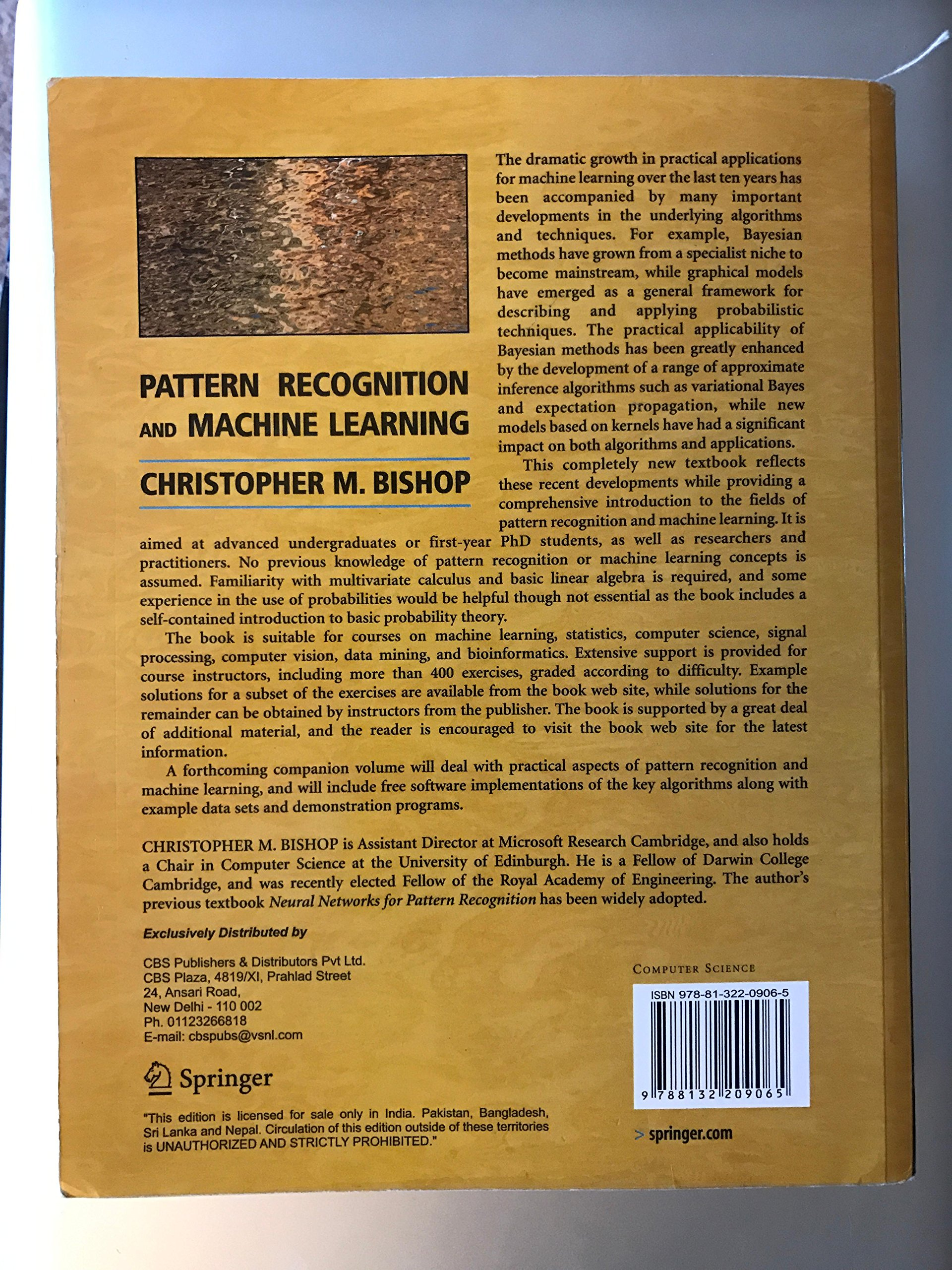 Pattern Recognition And Machine Learning Simple Ideas