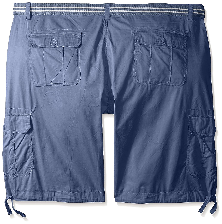 e7dce7fea4 Amazon.com: Akademiks Men's Cameron Twill Cargo Short With Drawstring  Bottom: Clothing