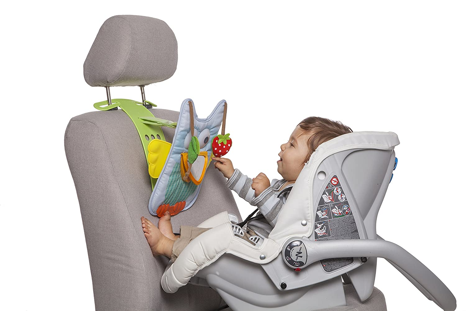 Taf Toys Musical Car Toy Owl Travel Activity Centre with Remote Control