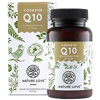 Coenzym Q10 von Nature Love. Mit 200mg pro Kapsel. 120 Kapseln im 4 Monatsvorrat. Premium Qualität: Pflanzlich, aus Fermentation. Vegan, hochdosiert, hergestellt in Deutschland