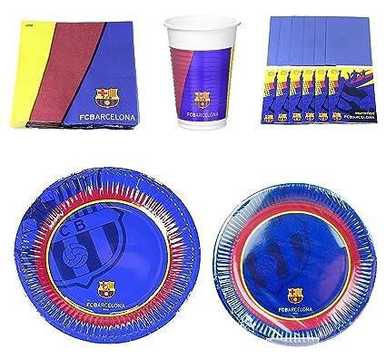 Amazon.com: Juego de 14 piezas de platos, servilletas, vasos ...