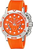 Swiss Legend Men's 10538S-06 Scubador Stainless Steel Watch with Orange Band