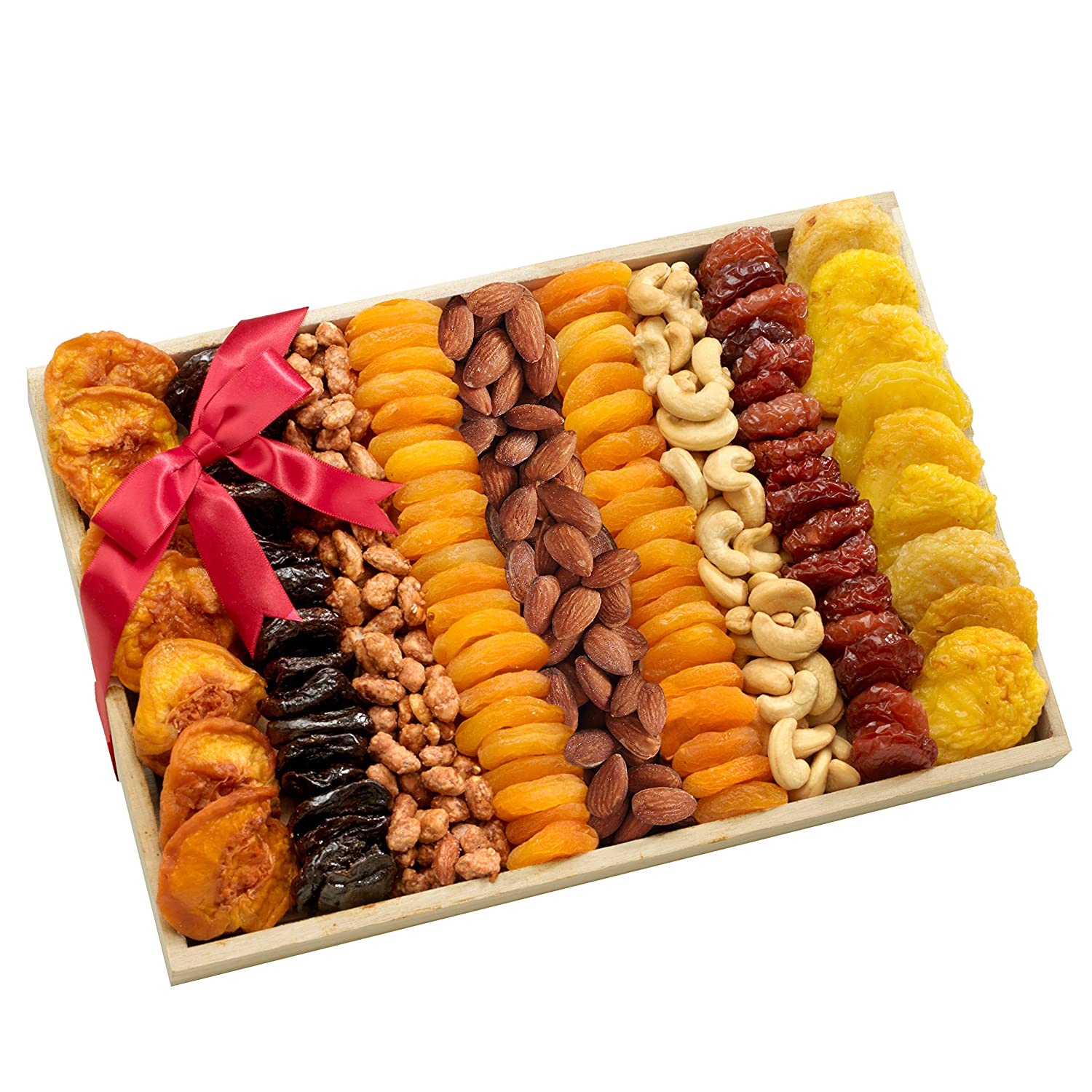 Broadway Basketeers Assorted Fruit and Nut Crate