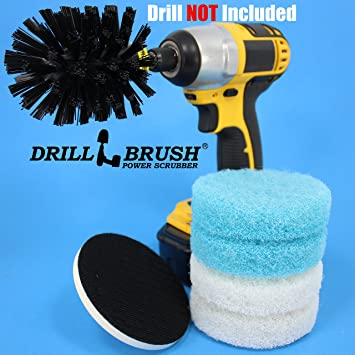 Electric Cleaning Rotary Brush Scrub Pad Tub and Tile Shower Kit. Amazon com  Electric Cleaning Rotary Brush Scrub Pad Tub and Tile