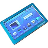 "EvoDigitals Blue 48GB (16GB + 32GB) 4.3"" Touch Screen MP3 MP4 MP5 Player With TV OUT Equaliser - Videos 