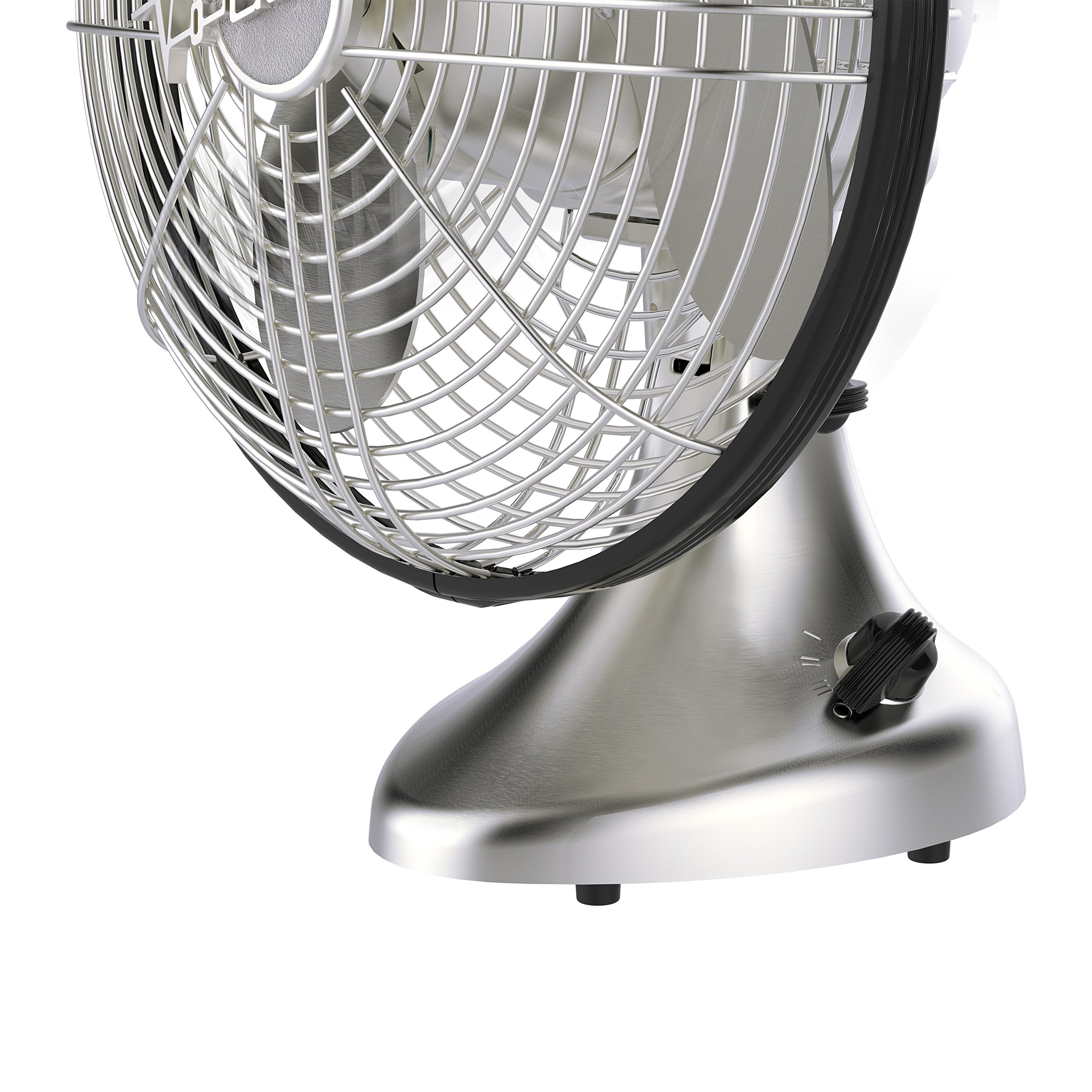 Vornado Silver Swan S Small Room Oscillating Fan Brushed