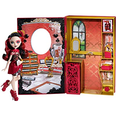 Ever After High Lizzie Hearts Spring Unsprung Book Playset: Toys & Games