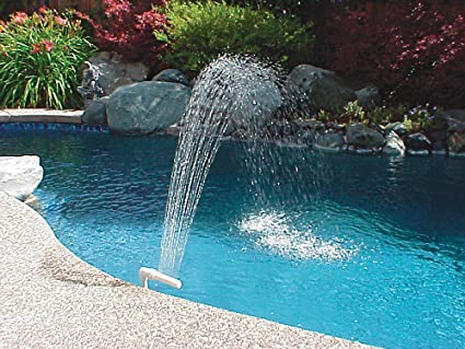 Poolmaster Swimming Pool And Spa Waterfall Fountain Swimming Pool Accessories Garden Outdoor
