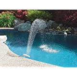 Poolmaster Swimming Pool and Spa Waterfall Fountain