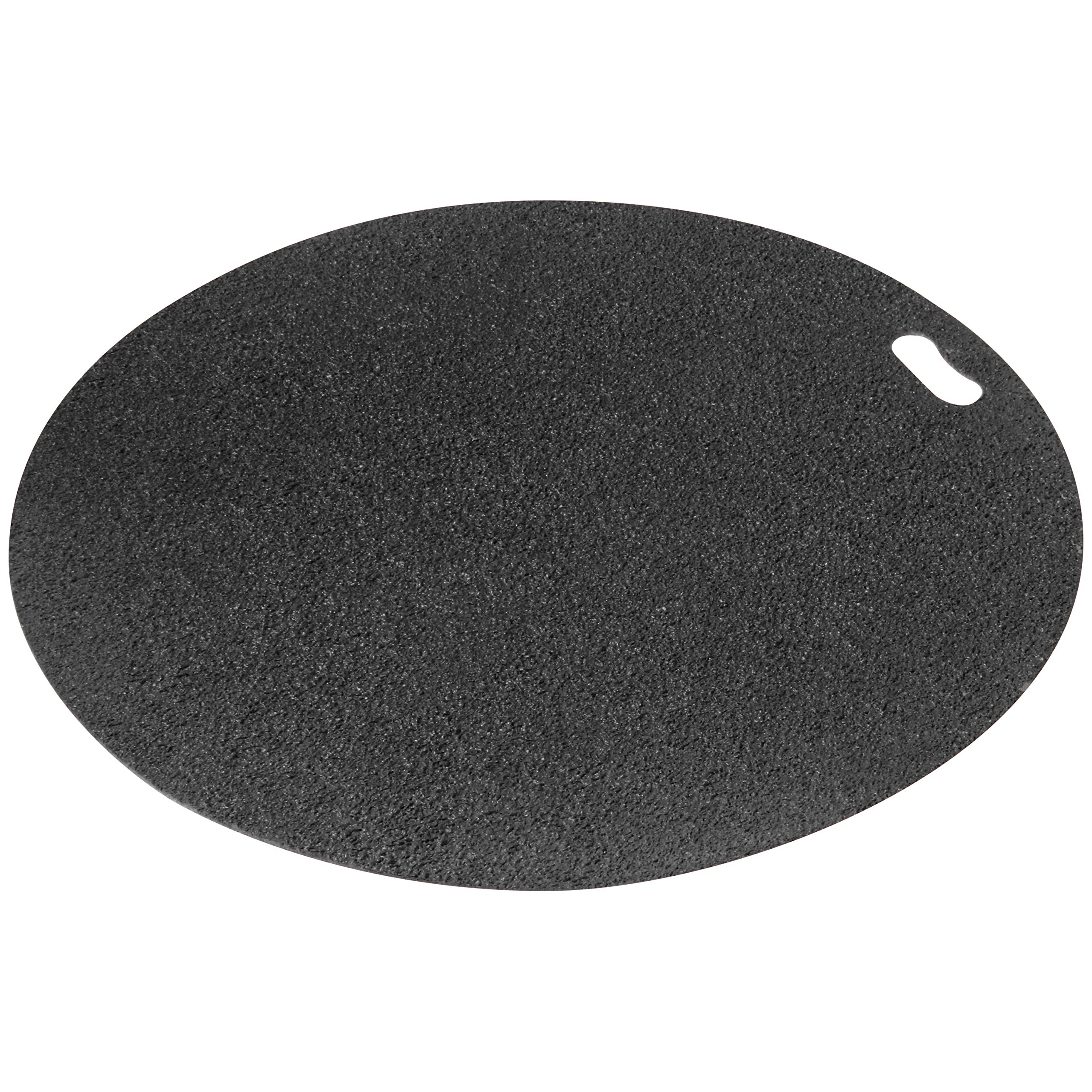 Diversitech Original Grill Mat - BBQ Floor Mat - Put Under Gas Grill, Fryer, Fire Pit - Protects Decks and Patios - 30 Inches - Round -  Gray by Diversitech Original (Image #1)
