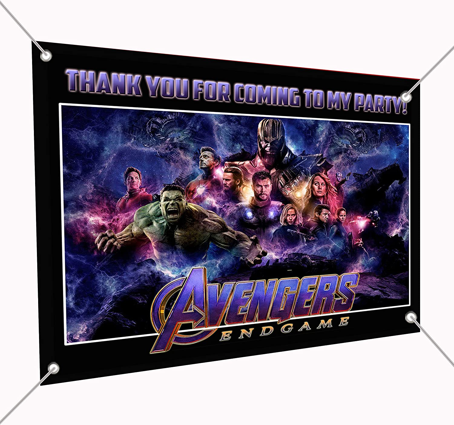 AVENGERS personalised childrens Banner x2
