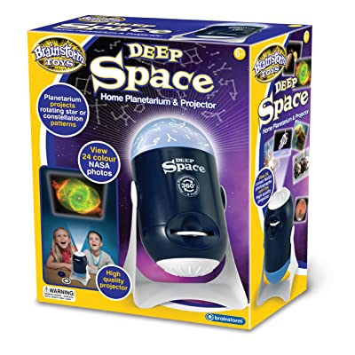 Brainstorm Toys Deep Space Home Planetarium and Projector: Toys & Games