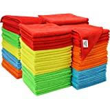 ST 923801 Assorted Microfiber Cleaning Cloths, 100 Pack