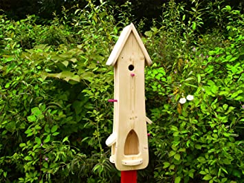 Vogelhaus Vogelvilla Nistkasten Vogelfutterhaus Zum Selbst Bauen
