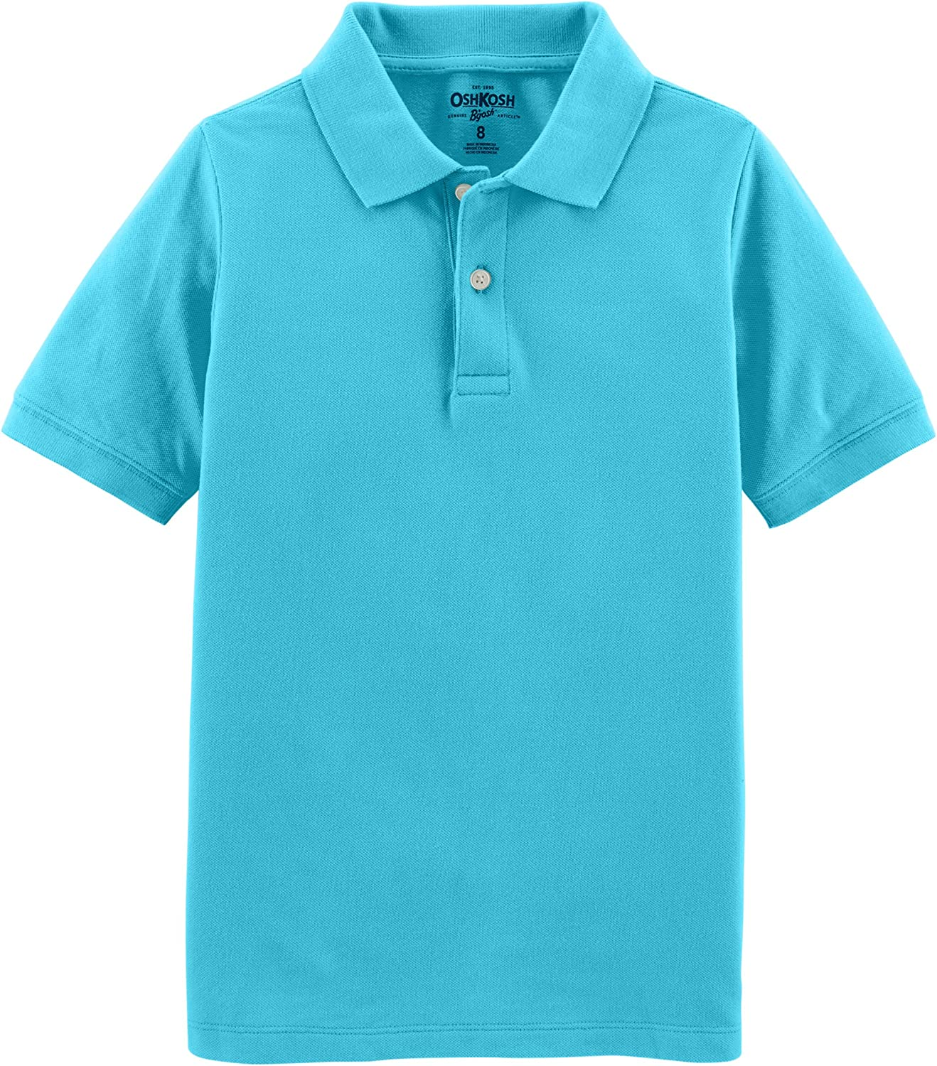 OshKosh B'Gosh Boys' Kids Short Sleeve Uniform Polo